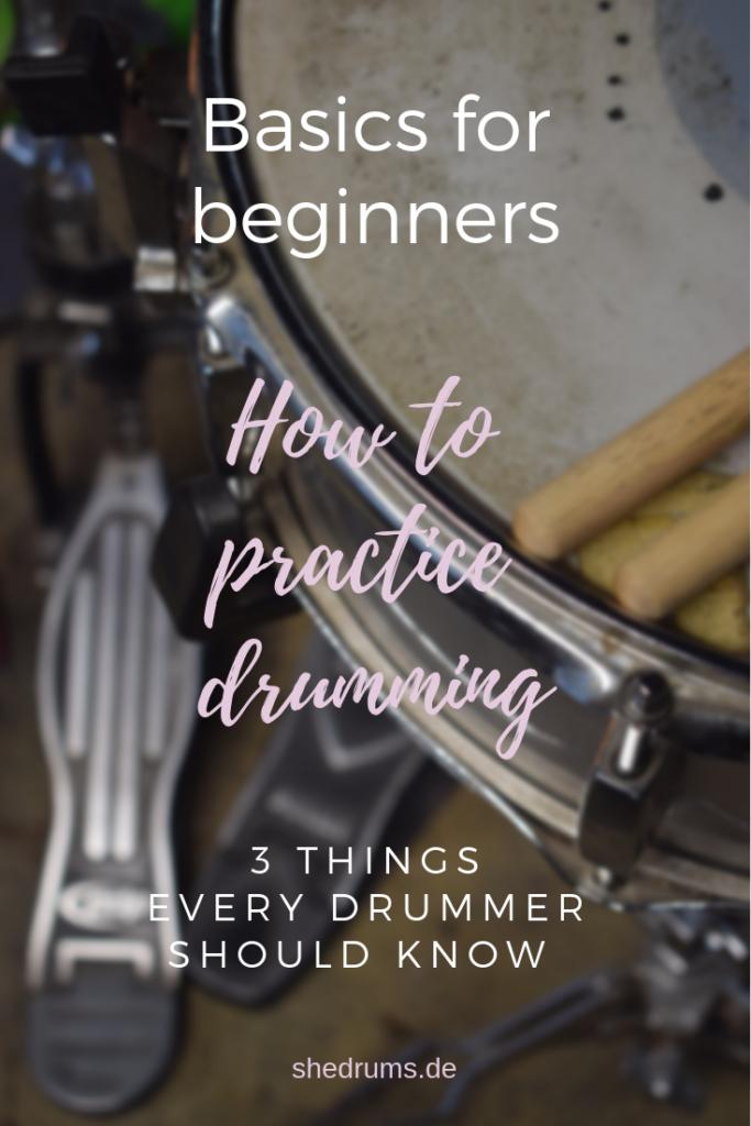 practice drumming beginners
