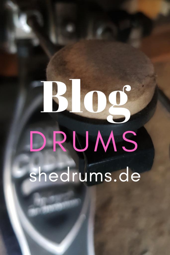 Blog about drumming shedrums.de