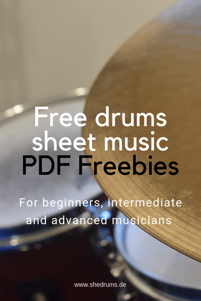drum notes free PDF