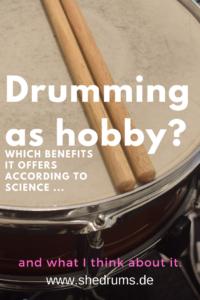 Drumming as hobby