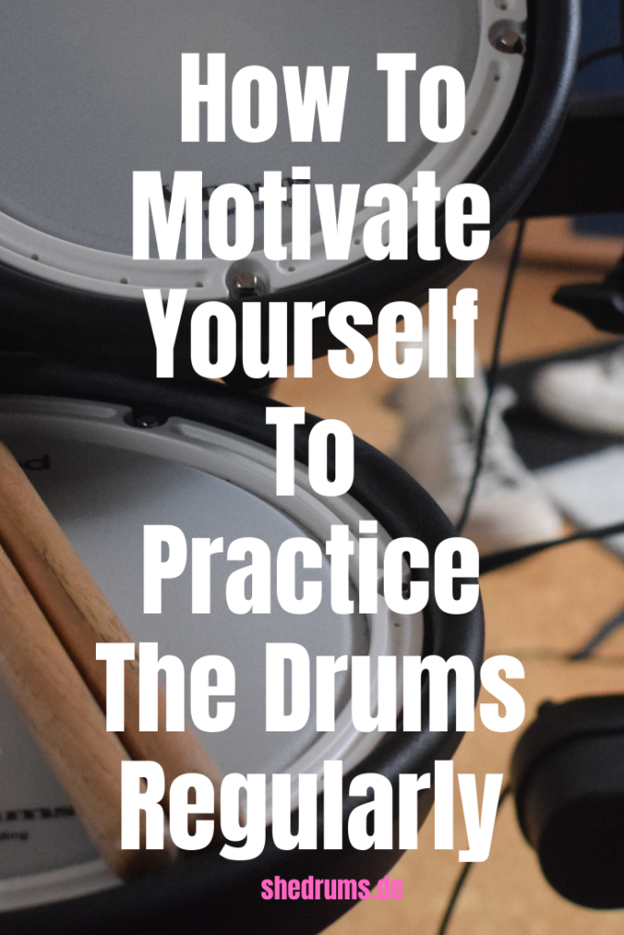 Practice the drums regularly tips