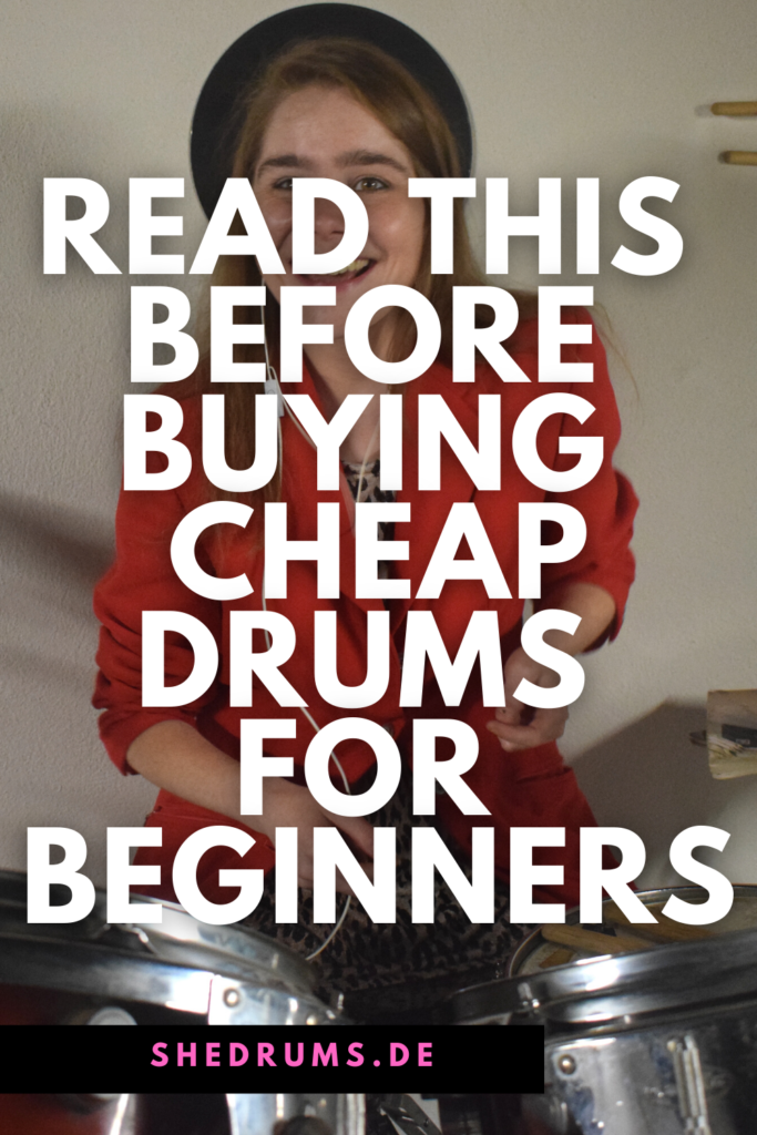 Tips buying cheap drums for beginners