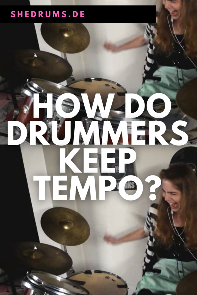 Drummer Tempo and Timing