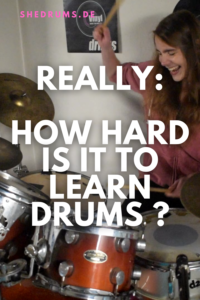 How hard is it to learn the drums